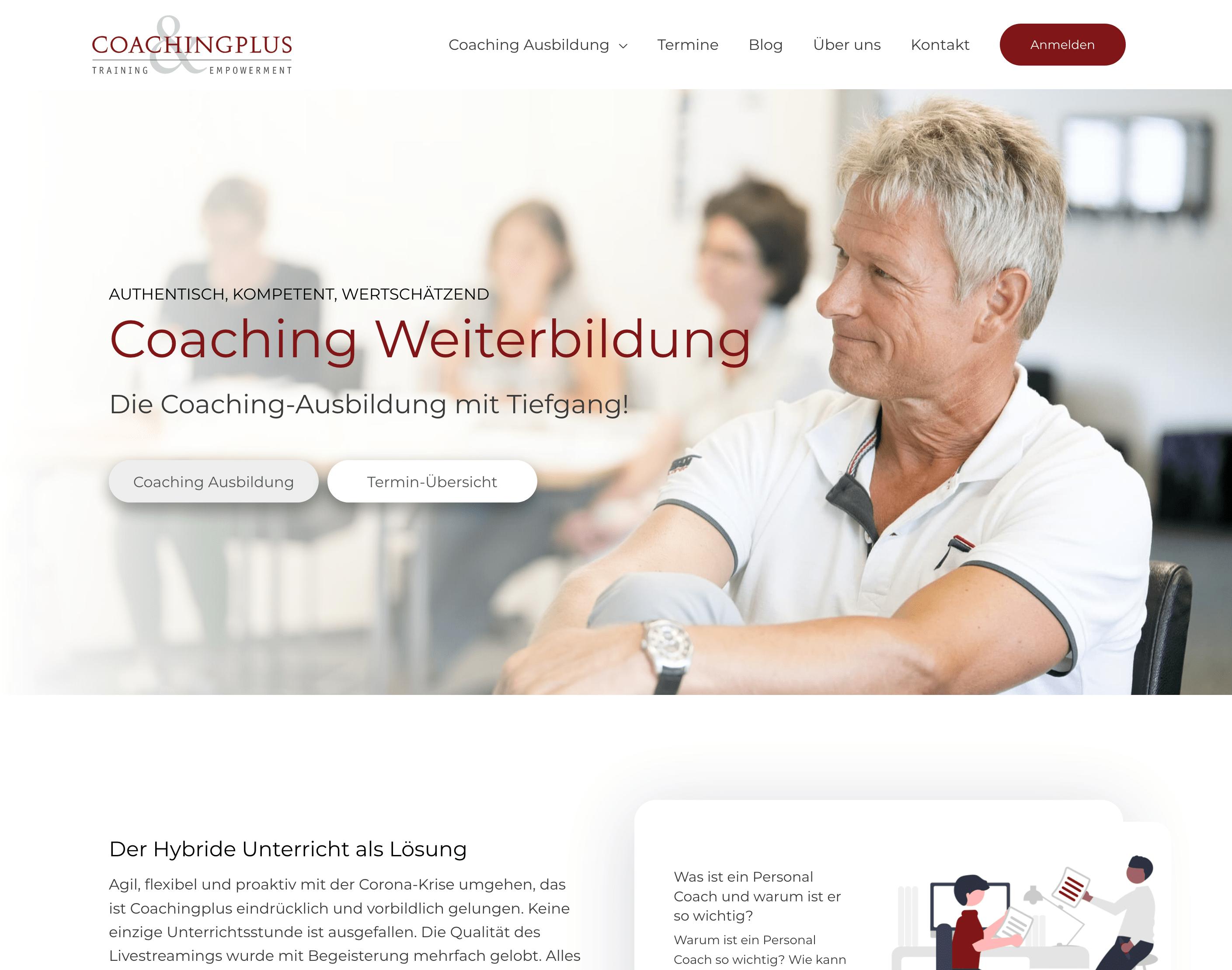 coachingplus screenshot