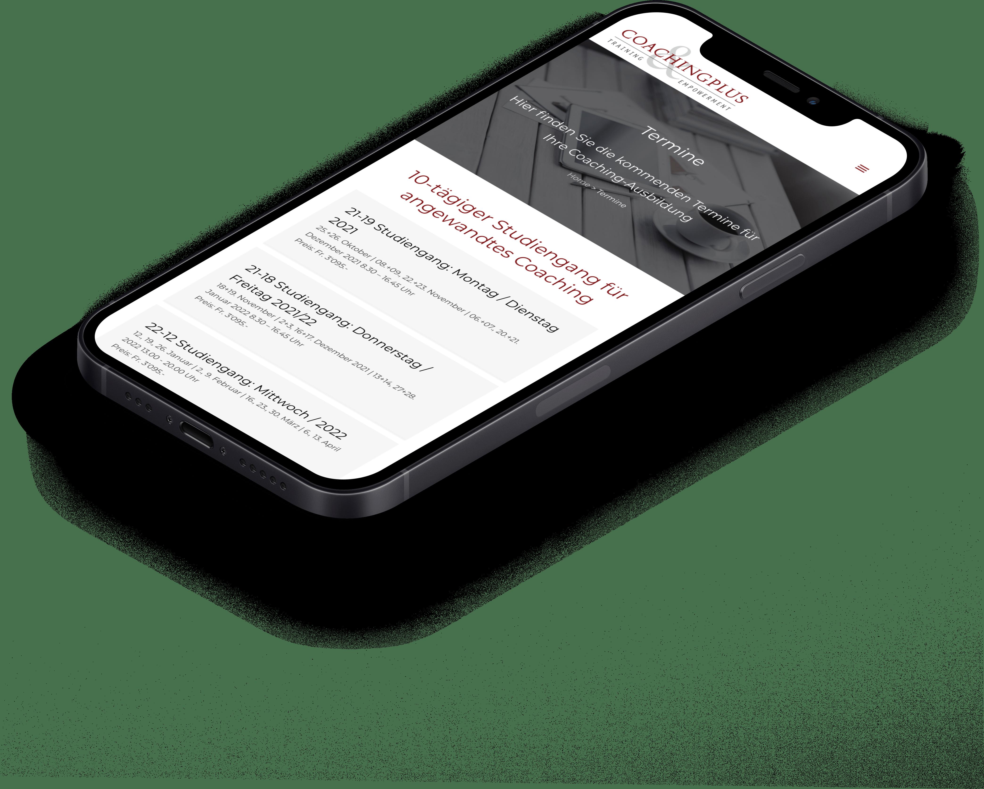 iphone coachingplus