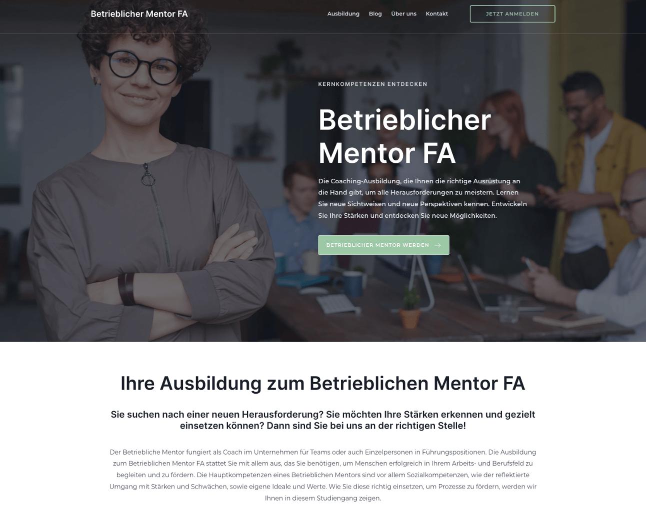 betrieblicher mentor